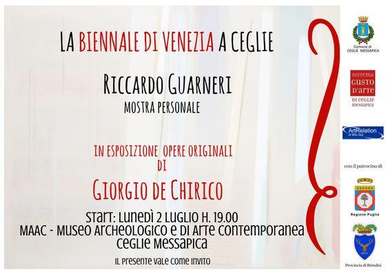 Biennale Venezia a Ceglie Messapica al MAAC