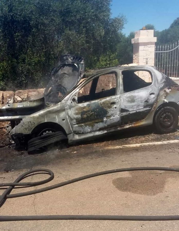 Incidente Ceglie Messapica - Martina Franca