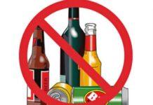 divieto vendita bevande in vetro o lattine