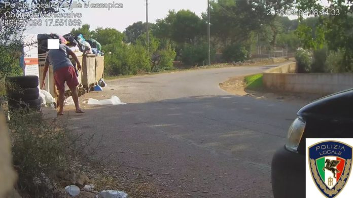 Ceglie Messapica Controlli della Polizia Locale su Rifiuti