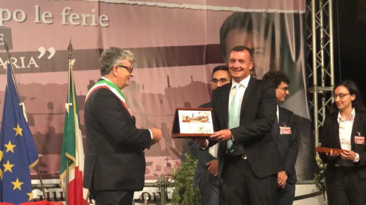 Luigi Caroli e Rocco Casalino La Piazza