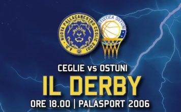 Banner Diretta Derby Ceglie vs Ostuni