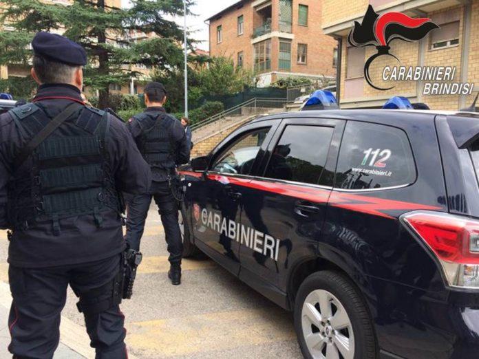 Controlli in tutto il territorio da parte dei Carabinieri, anche a Ceglie Messapica