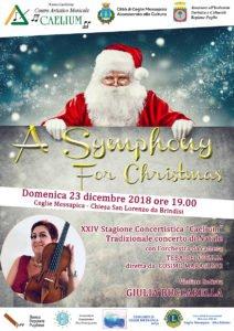 Locandina Concerto di Natale 2018