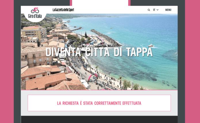 candidatura giro d'Italia