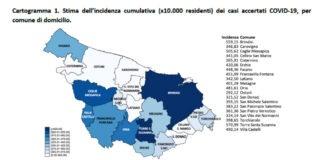 Report covid provincia di Brindisi 25 aprile